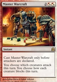 Master Warcraft - MTG Commander