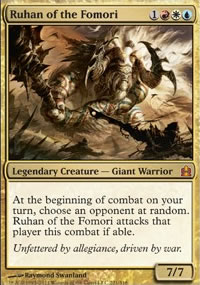 Ruhan of the Fomori - MTG Commander