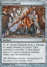 Acorn Catapult - MTG Commander