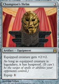 Champion's Helm - MTG Commander