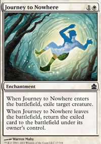 Journey to Nowhere - MTG Commander