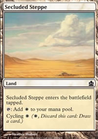 Secluded Steppe - MTG Commander
