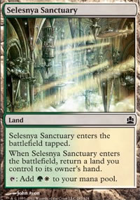 Selesnya Sanctuary - MTG Commander