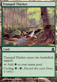 Tranquil Thicket - MTG Commander