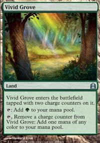 Vivid Grove - MTG Commander