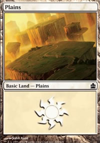 Plains 2 - MTG Commander