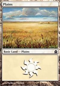 Plains 4 - MTG Commander