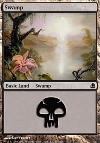 Swamp 1 - MTG Commander