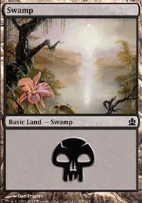 Swamp 1 - MTG Commander