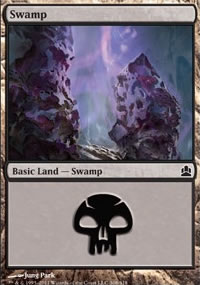 Swamp 2 - MTG Commander