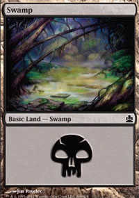 Swamp 3 - MTG Commander