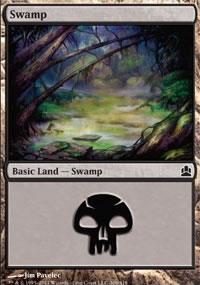 Swamp 3 - MTG Commander