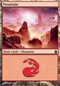 Mountain 1 - MTG Commander