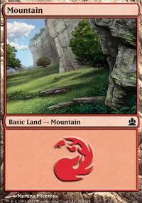 Mountain 4 - MTG Commander