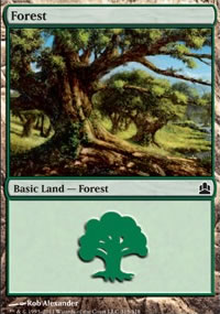 Forest 1 - MTG Commander