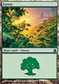 Forest 3 - MTG Commander