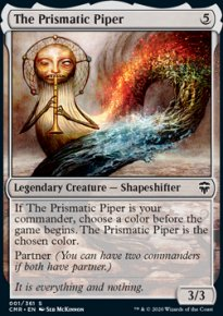 The Prismatic Piper 1 - Commander Legends
