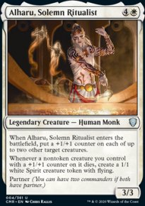 Alharu, Solemn Ritualist 1 - Commander Legends