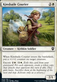 Kinsbaile Courier - Commander Legends