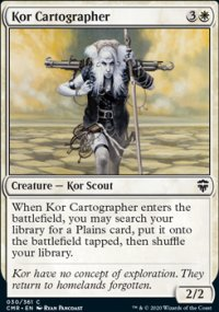 Kor Cartographer 1 - Commander Legends