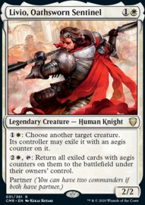 Livio, Oathsworn Sentinel 1 - Commander Legends