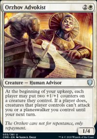 Orzhov Advokist - Commander Legends