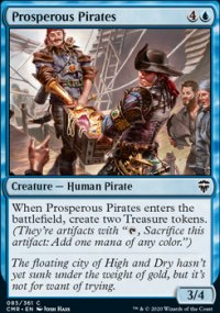 Prosperous Pirates - Commander Legends