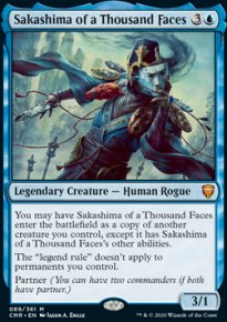 Sakashima of a Thousand Faces - Commander Legends