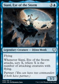 Siani, Eye of the Storm -