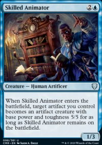 Skilled Animator - Commander Legends