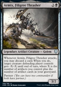 Armix, Filigree Thrasher 1 - Commander Legends