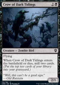 Crow of Dark Tidings - Commander Legends