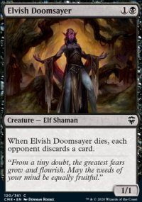 Elvish Doomsayer - Commander Legends