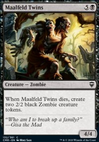 Maalfeld Twins - Commander Legends
