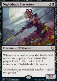 Nightshade Harvester 1 - Commander Legends