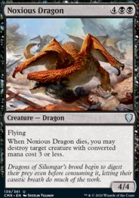 Noxious Dragon - Commander Legends