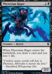 Phyrexian Rager - Commander Legends