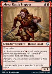 Alena, Kessig Trapper 1 - Commander Legends