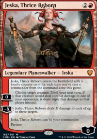 Jeska, Thrice Reborn 1 - Commander Legends