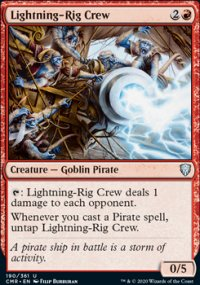 Lightning-Rig Crew - Commander Legends