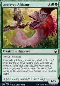 Annoyed Altisaur - Commander Legends