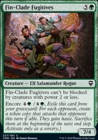Fin-Clade Fugitives - Commander Legends