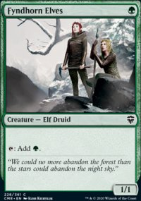 Fyndhorn Elves 1 - Commander Legends