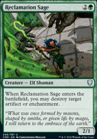 Reclamation Sage 1 - Commander Legends