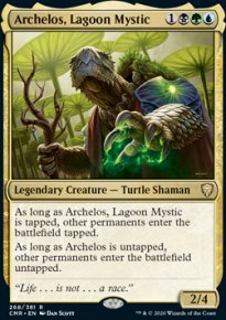 Archelos, Lagoon Mystic 1 - Commander Legends