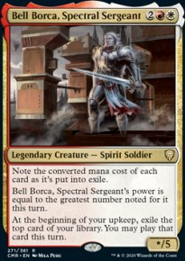 Bell Borca, Spectral Sergeant 1 - Commander Legends