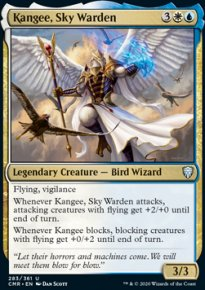 Kangee, Sky Warden 1 - Commander Legends