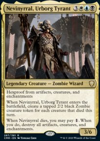 Nevinyrral, Urborg Tyrant 1 - Commander Legends