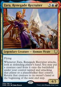 Zara, Renegade Recruiter 1 - Commander Legends