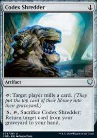 Codex Shredder - Commander Legends